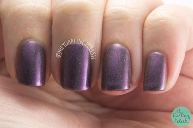 marilee, holo, duochrome, shimmer, science, nails, nail polish, swatch, indie polish, indie, indie nail polish, parallax polish, hey darling polish