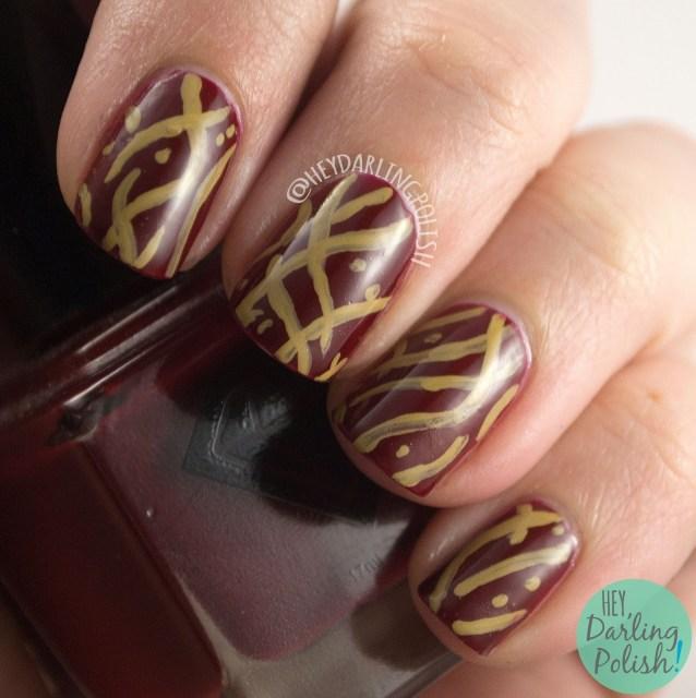 nails, nail art, nail polish, red, hey darling polish, wallpaper, the nail challenge collaborative