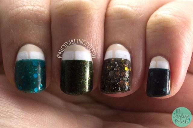 nails, nail art, nail polish, hey darling polish, the nail art guild, indie polish, seven deadly sins, sloth, beds, pillows,