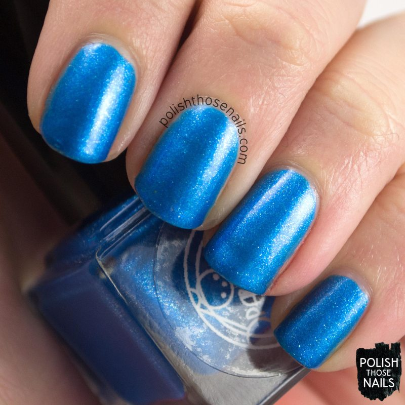 morgan, blue, shimmer, parallax polish, indie polish, secience collection, science