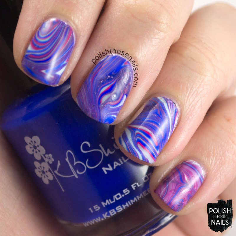 low and be bold, kbshimmer, nail polish, indie polish, polish those nails, nail art, watermarble,