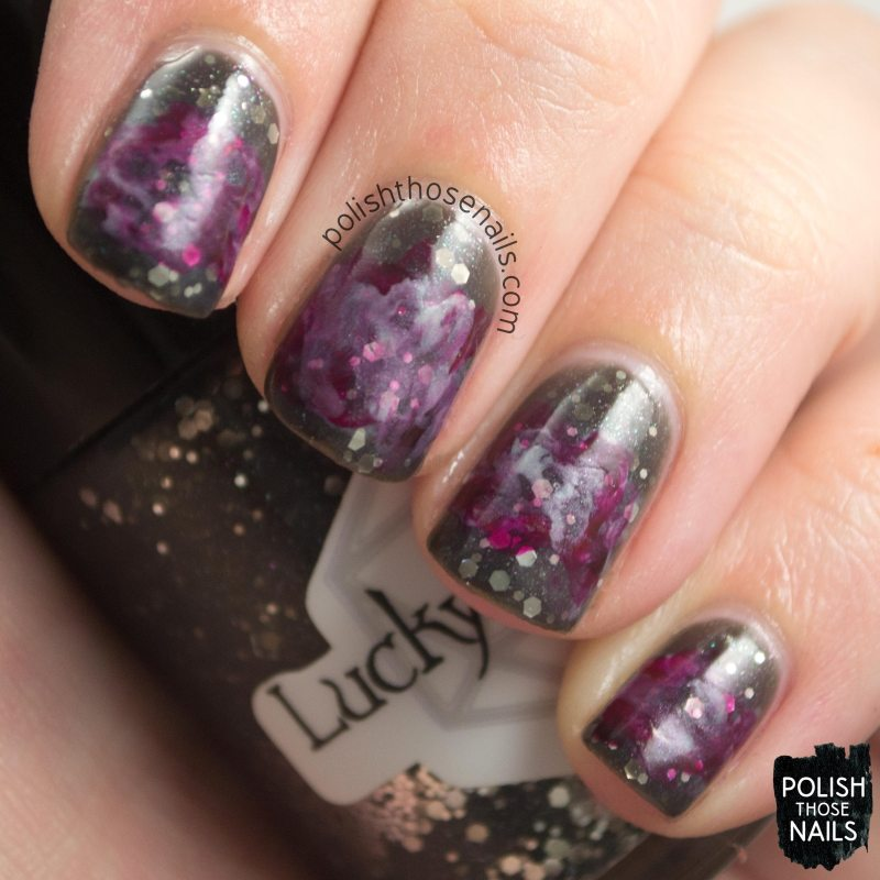 nails, nail art, nail polish, the nail challenge collaborative, scarlet witch