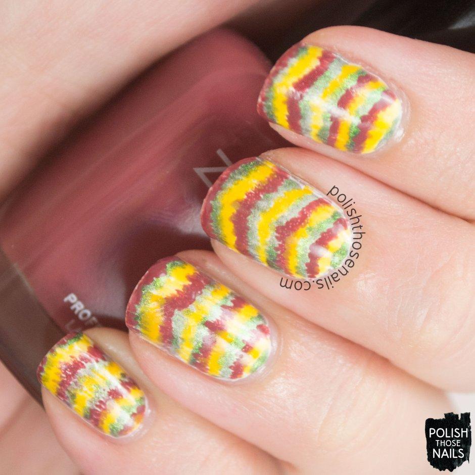 nails, nail art, nail polish, tie dye, polish those nails, 52 week challenge