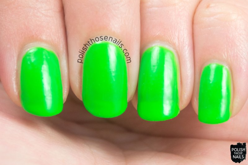corpus callosum, green, matte, nails, nail polish, indie, indie polish, indie nail polish, parallax polish, polish those nails, swatch