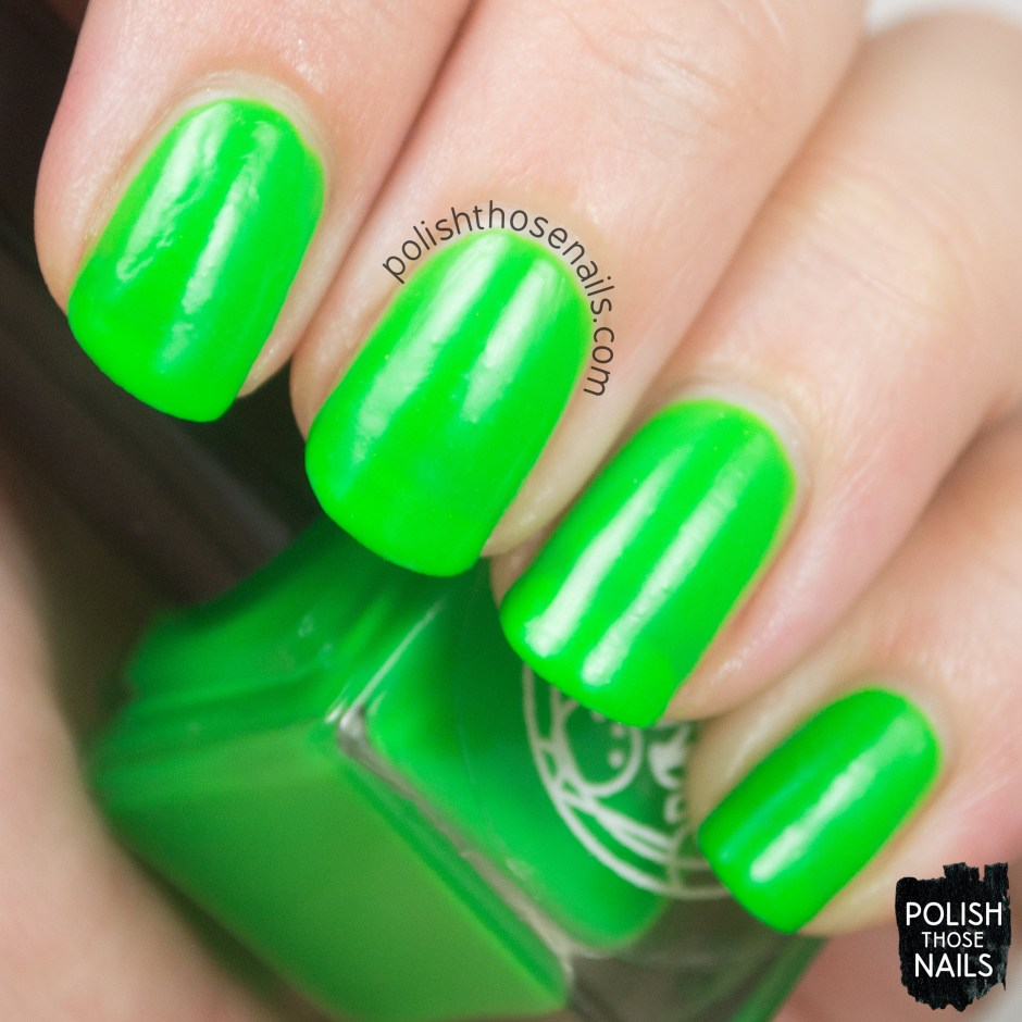 corpus callosum, green, matte, nails, nail polish, indie, indie polish, indie nail polish, parallax polish, polish those nails, swatch
