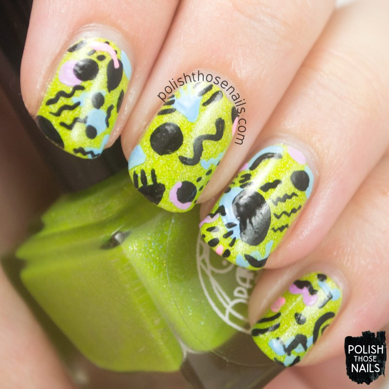 parallax-polish-on-off-cells-neon-yellow-green-holo-80s-nail-art-3