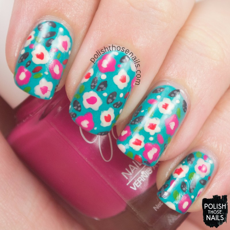nails, nail art, nail polish, flowers, pattern, polish those nails,