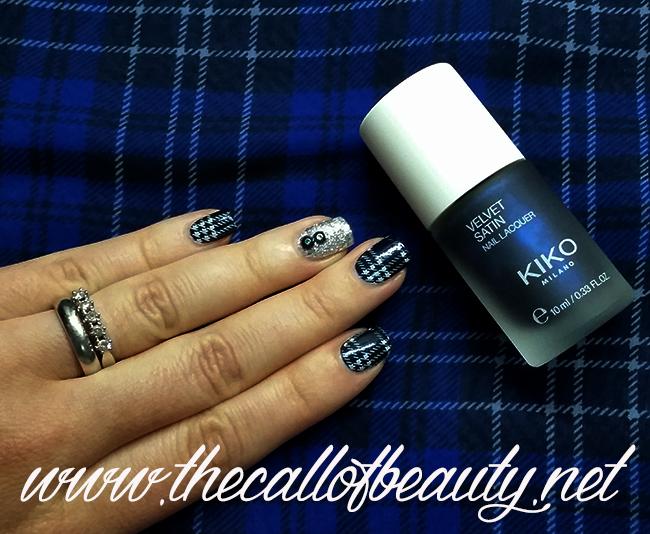 Guest Post - Tartan Manicure with glitter accent  (30) wm