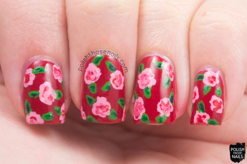 Love-Is-In-My-Cards-Red-Creme-Rose-Nail-Art-2