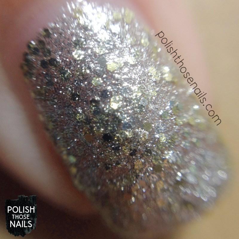 nails, nail polish, polish those nails, opi, starlight collection, super star status, glitter, macro