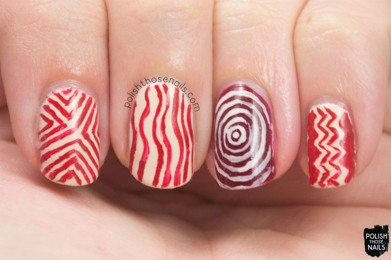 nails, nail art, nail polish, polish those nails, pattern, freehand nail art