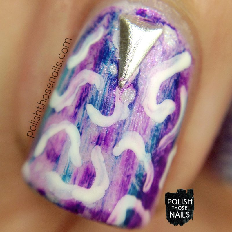 nails, nail art, nail polish, sharpie, pattern, polish those nails, macro