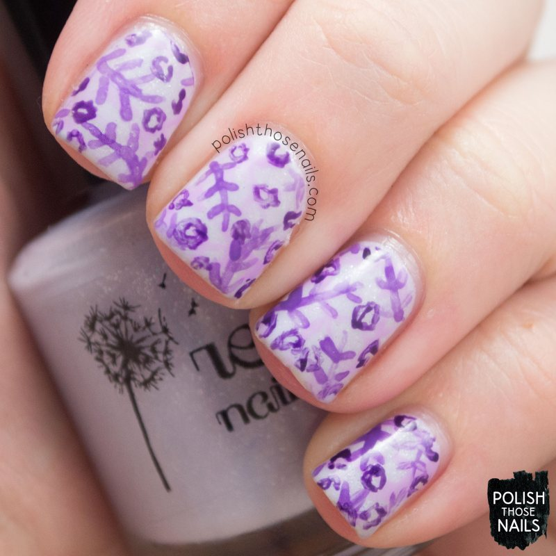nails, nail art, nail polish, purple, pattern, polish those nails