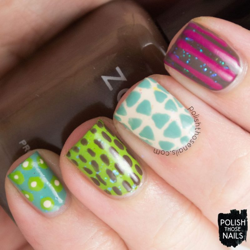 nails, nail art, nail polish, pattern, skittles manicure, polish those nails