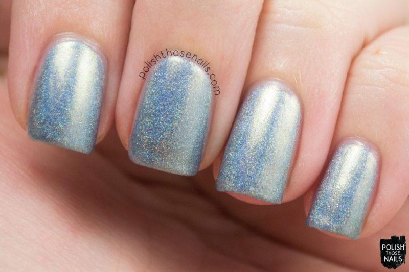 3.5 degrees, holo, blue, nails, nail polish, indie polish, parallax polish, polish those nails, the secrets of the 7 seas