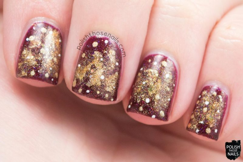 nails, nail art, nail polish, red, gold, polish those nails,