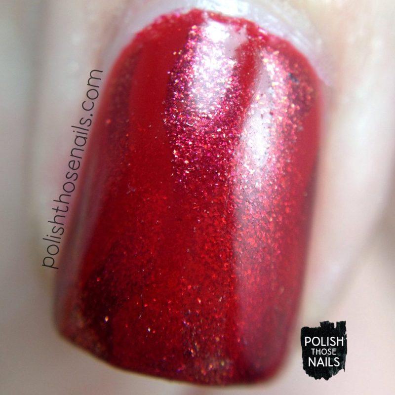 nails, nail art, nail polish, red, reciprocal gradient, opi, polish those nails, macro