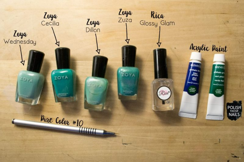 turquoise-blob-plaid-polka-dot-pattern-nail-art-bottle-shot