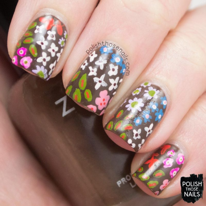 nails, nail art, nail polish, spring, flowers, floral, polish those nails