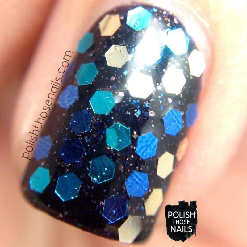 nails, nail art, nail polish, glitter placement, glequins, polish those nails, macro