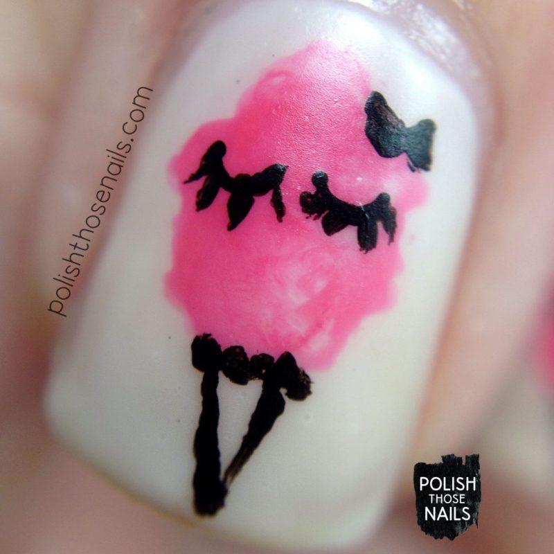 nails, nail polish, nail art, cotton candy, sweets, polish those nails, macro