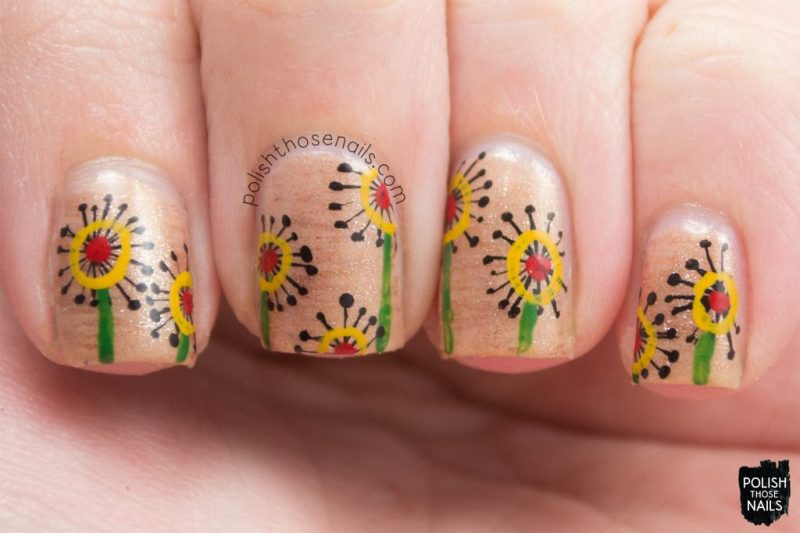 nails, nail art, nail polish, flowers, floral, polish those nails