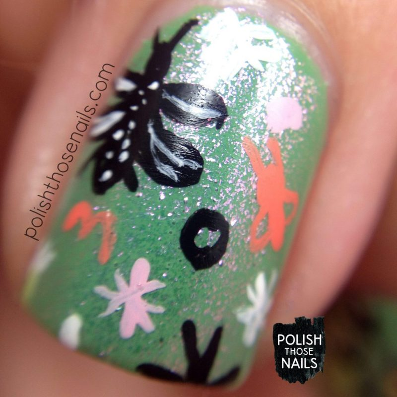 nails, nail art, nail polish, insects, pattern, polish those nails, macro