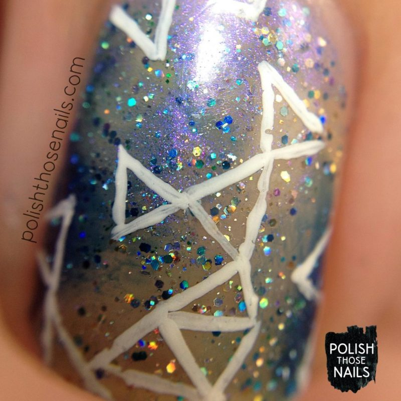 nails, nail art, nail polish, galaxy, negative space, fractals, polish those nails, macro