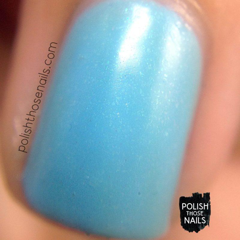 sons of adam, blue, swatch, nails, nail polish, indie polish, polish those nails, love angeline, shimmer, macro