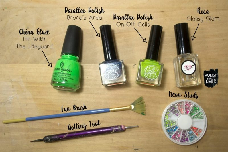 neon-green-fan-brush-studded-nail-art-bottle-shot