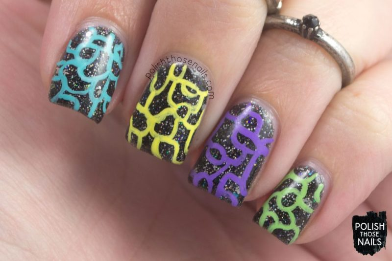 Four Running Out Of Squiggles Polish Those Nails