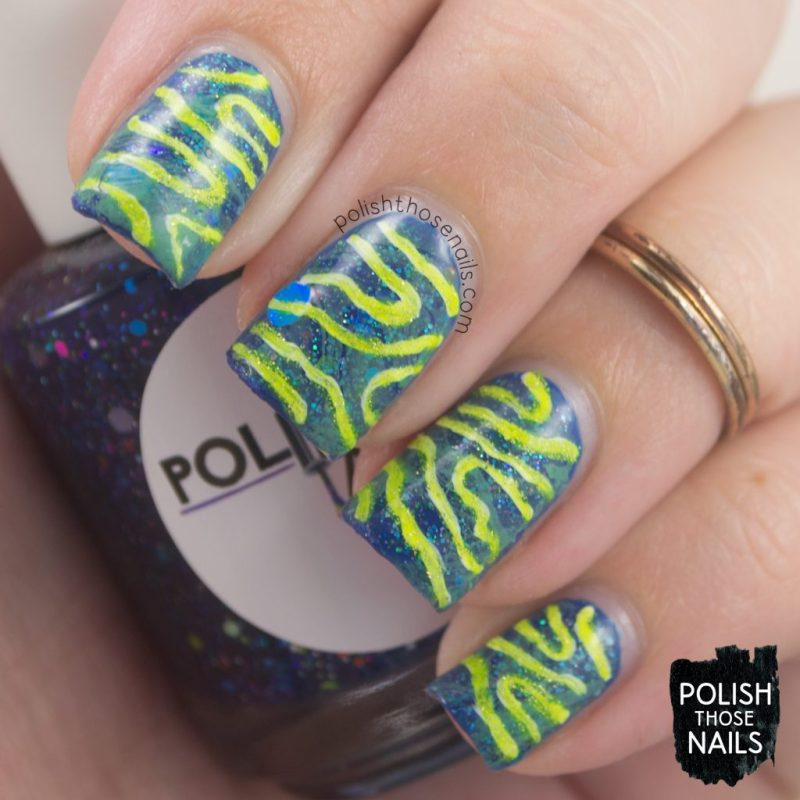 nails, nail art, nail polish, watermarble, stripes, polish those nails