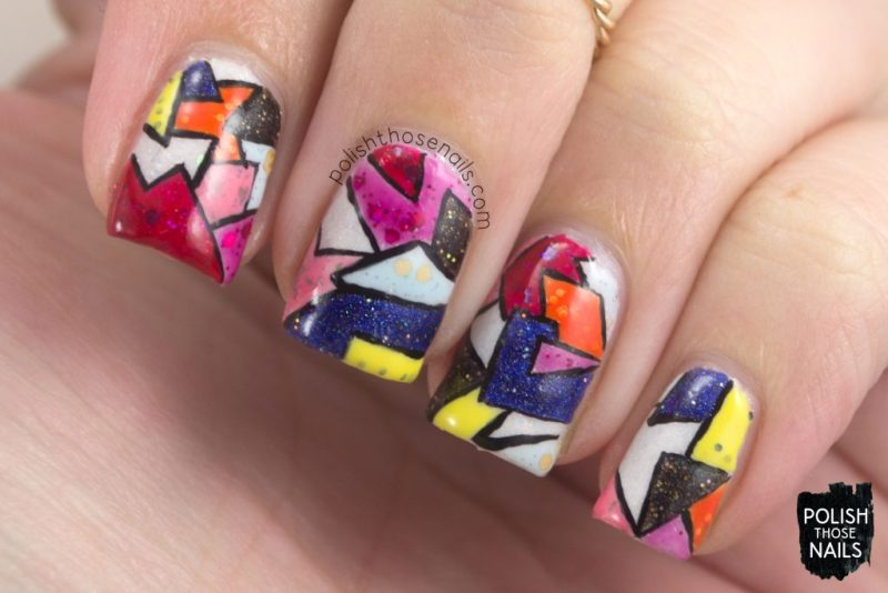 nails, nail art, nail polish, fashion, indie polish, polish those nails, geometric