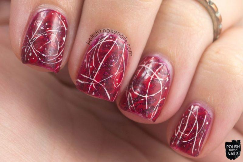 nails, nail art, nail polish, red, zoya, polish those nails,