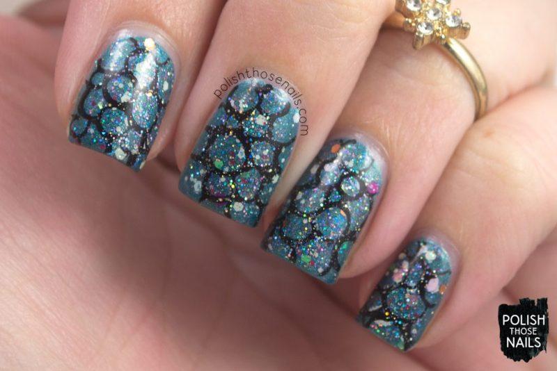 nails, nail art, nail polish, glitter, circles, polish those nails