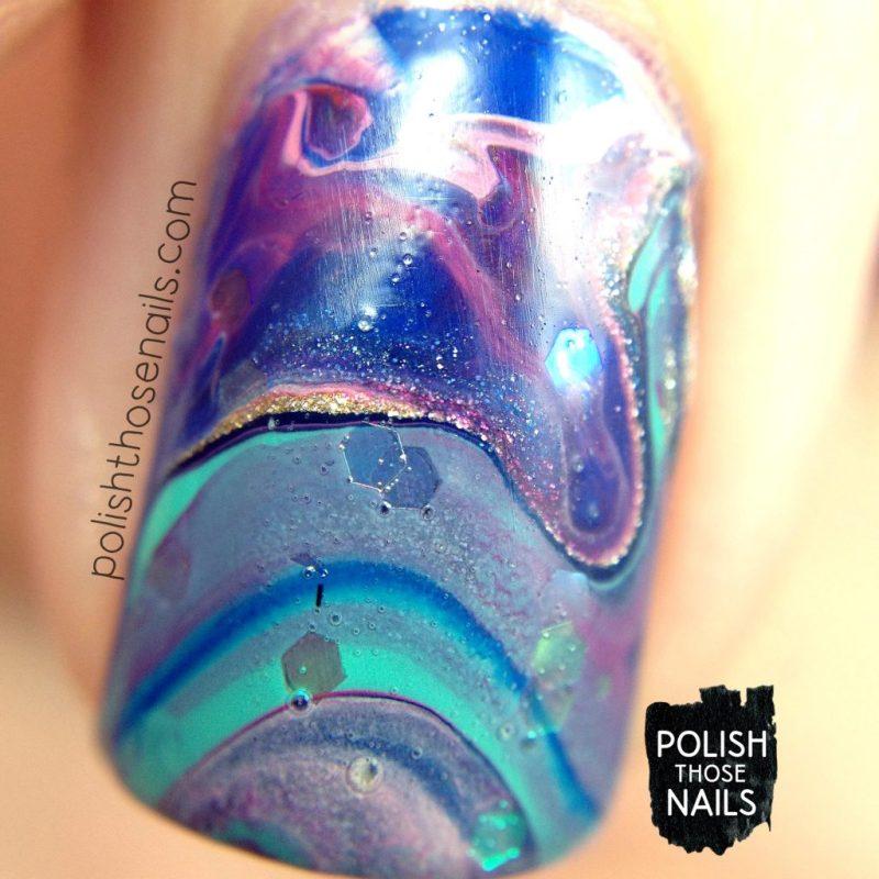 nails, nail art, nail polish, drip marble, polish those nails, glitter, macro
