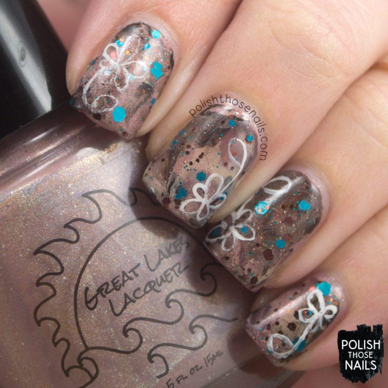 nails, nail art, nail polish, indie polish, coffee, polish those nails, glitter,