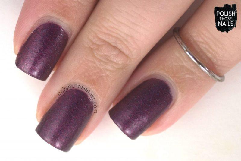 alpha, red, metallic, nails, nail polish, indie polish, parallax polish, polish those nails, stat-ick-tics set