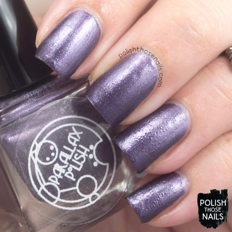 beta, purple, metallic, nails, nail polish, indie polish, parallax polish, polish those nails, stat-ick-tics set