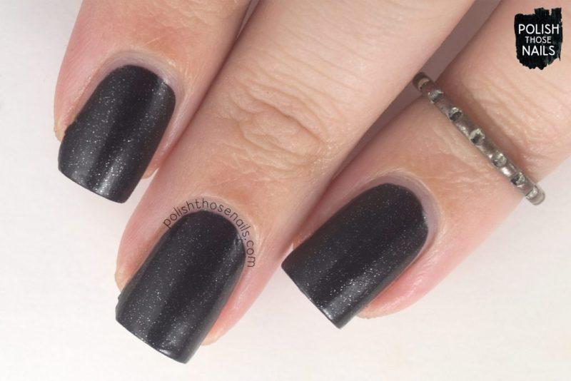 power, black, nails, nail polish, indie polish, parallax polish, polish those nails, stat-ick-tics set
