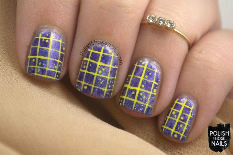 nails, nail art, nail polish, purple, contrast, polish those nails, tonic nail polish