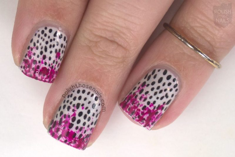 nails, nail art, nail polish, polka dots, polish those nails