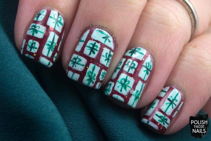nails, nail art, nail polish, presents, indie polish, red, holiday, polish those nails