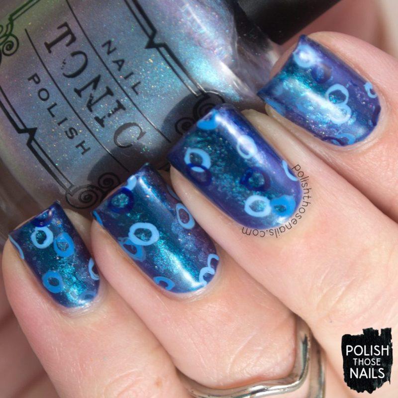 nails, nail polish, nail art, blue, polish those nails, indie polish, tonic nail polish