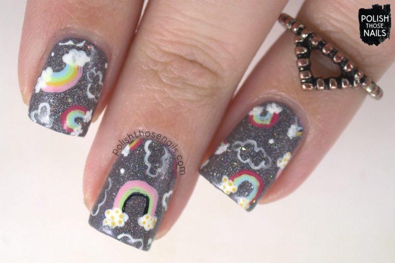 nails, nail art, nail polish, rainbow, indie polish, polish those nails,