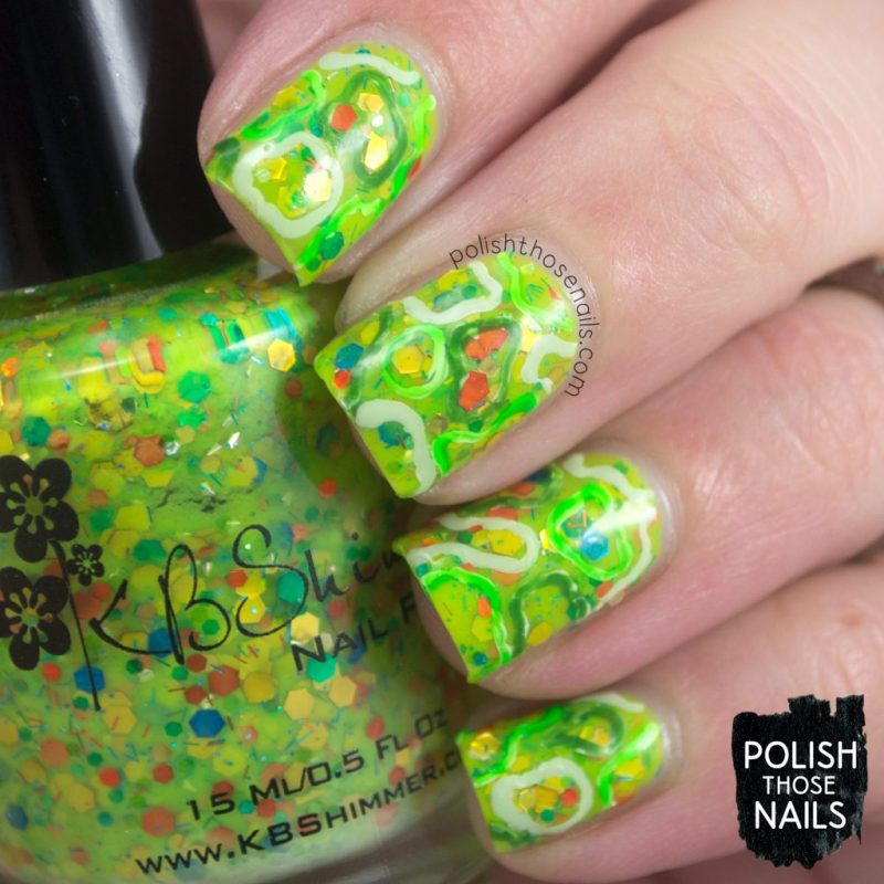Nails Nail Art Polish Green Indie Those