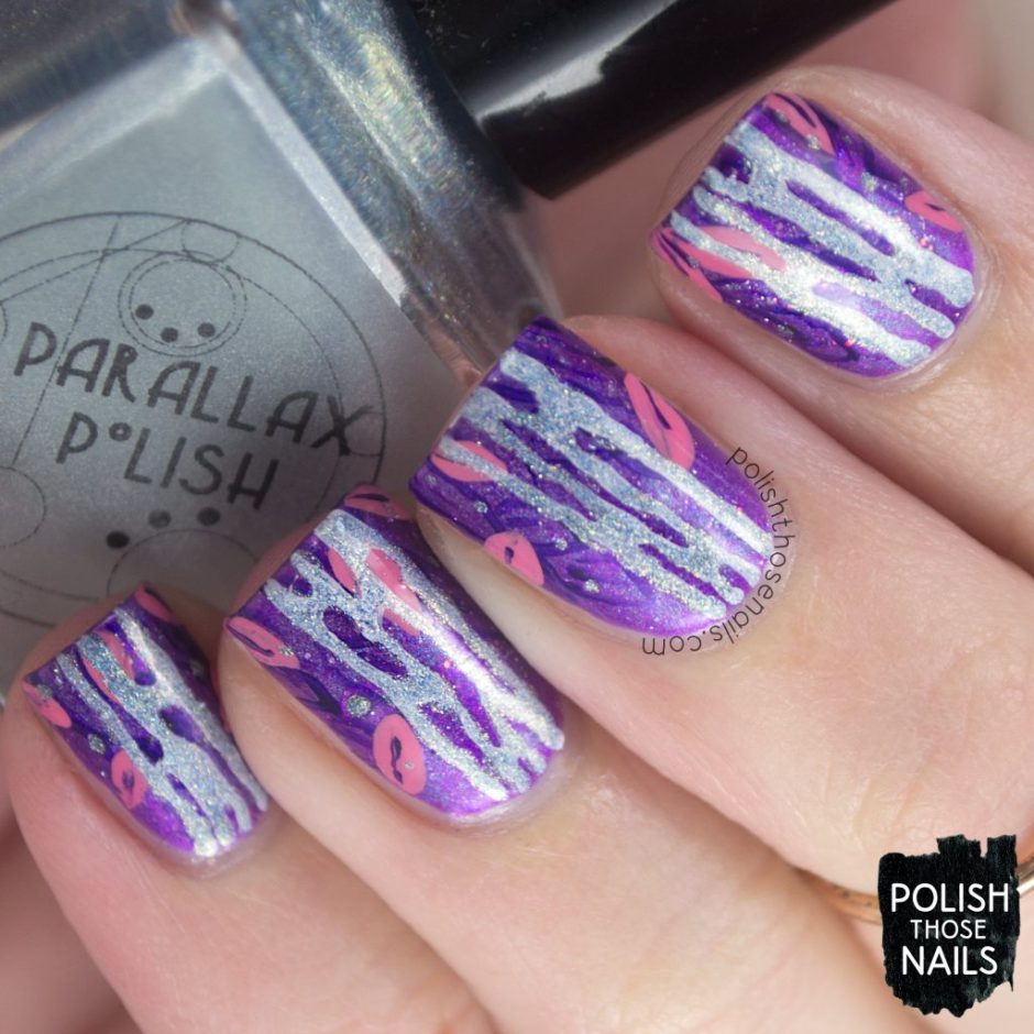 nails, nail art, nail polish, rainforest, holo, shimmer, polish those nails, indie polish, purple