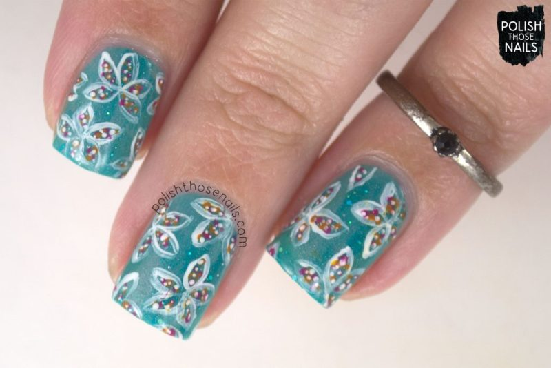 nails, nail art, nail polish, florals, flowers, japan, continents, polish those nails