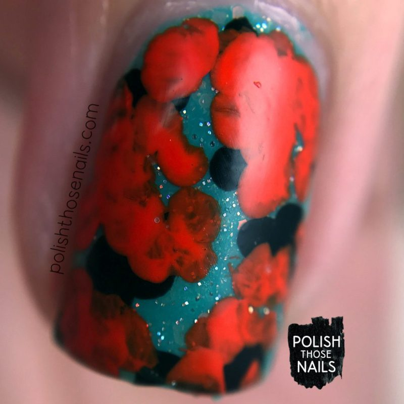 nails, nail art, nail polish, orange, abstract, polish those nails, macro