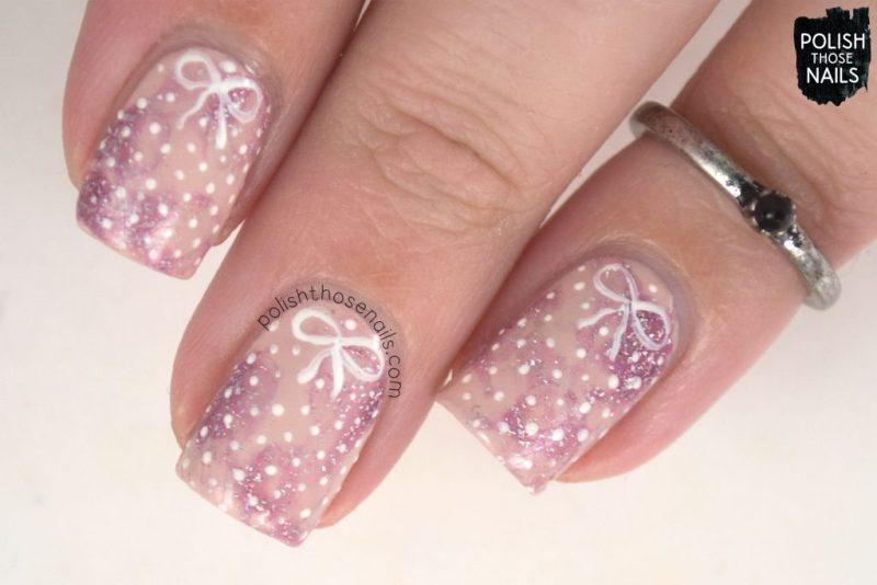 nails, nail art, nail polish, polish those nails, polka dots, pink,